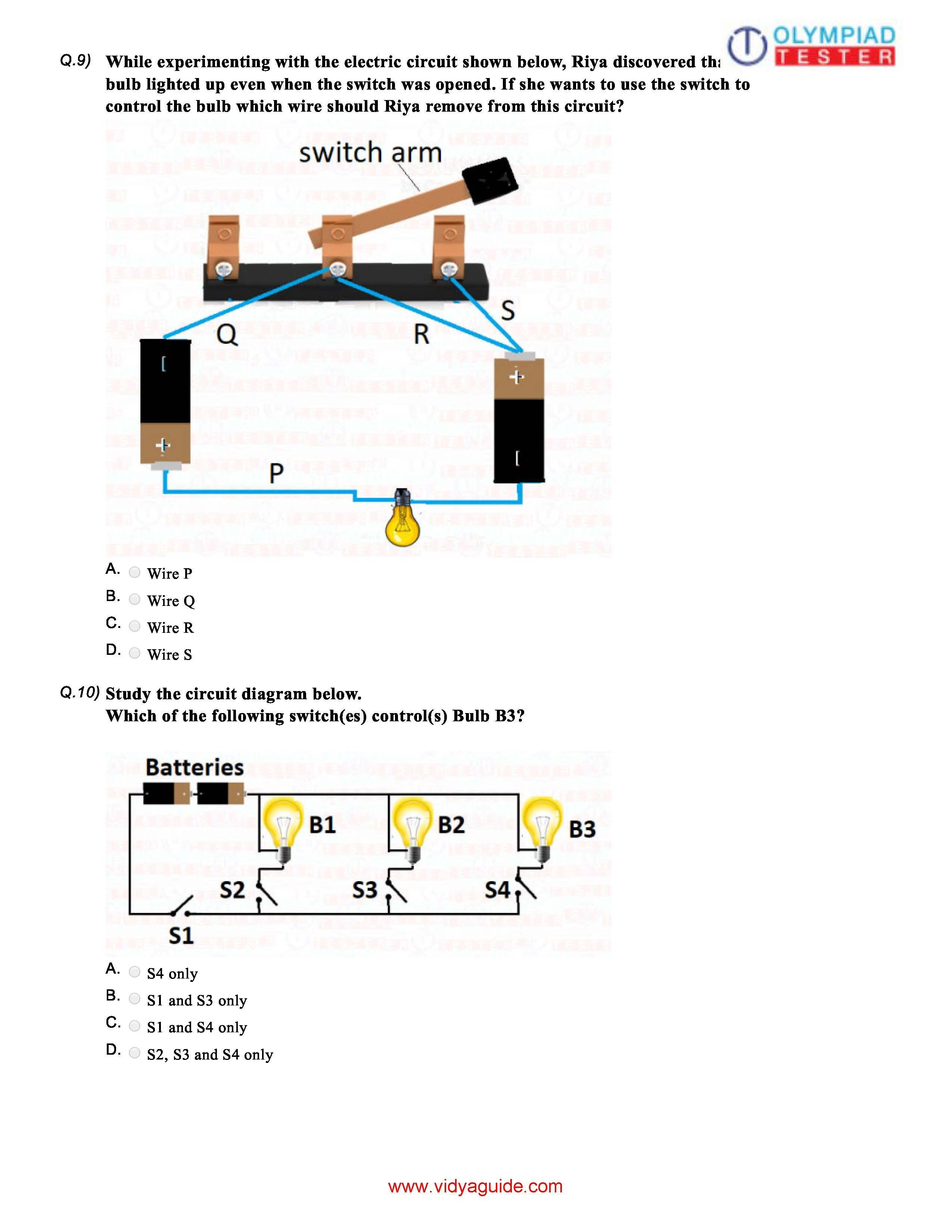 Fine Download 12 Cbse Science Class 6 Sample Papers On Electricity And Wiring Cloud Staixuggs Outletorg