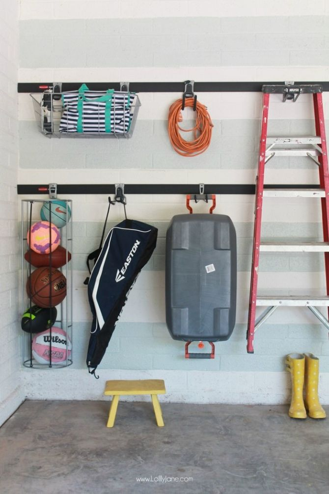 rubbermaid garage organizer