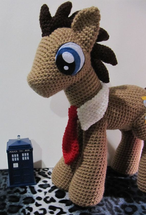 Doctor Whooves 10th Pattern My Little Pony by NerdyKnitterDesigns ...