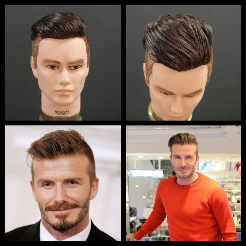 David Beckham New 2014 Haircut Tutorial Thesalonguy Male