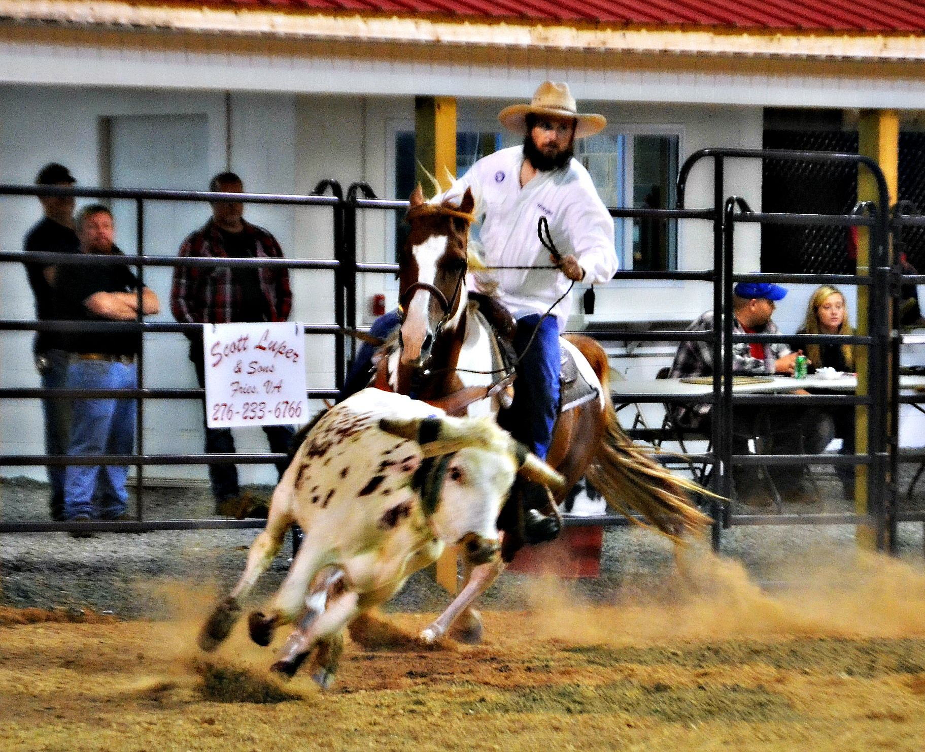 Ranch Rodeo Photography featuring Owner, Jason Burcham of Burcham's Mini Blessings of Fries, VA.