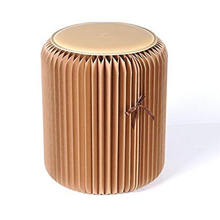 Foldable Accordion Paper Fashion Stool With Images