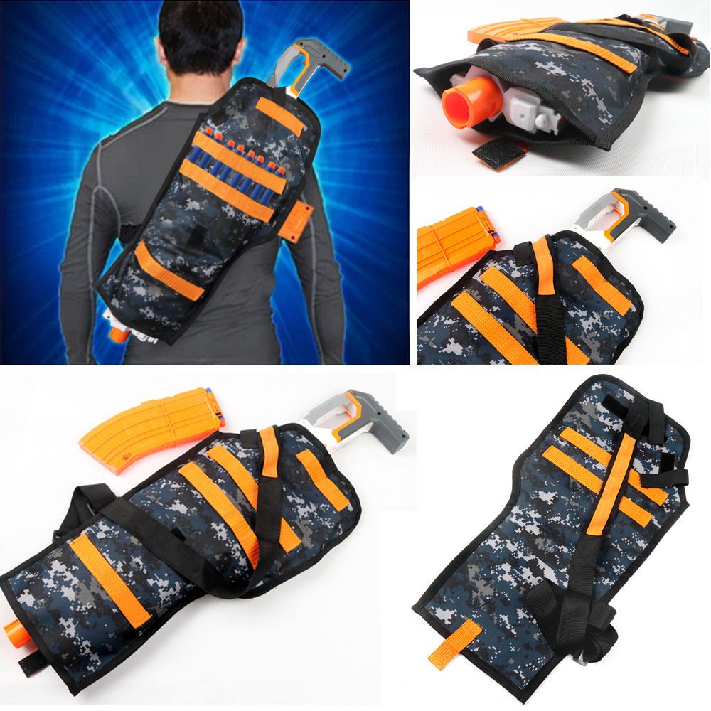 Gun Refill Darts Tactical Vest Storage Pockets for Nerf N Strike Elite  Team-in Bedspread