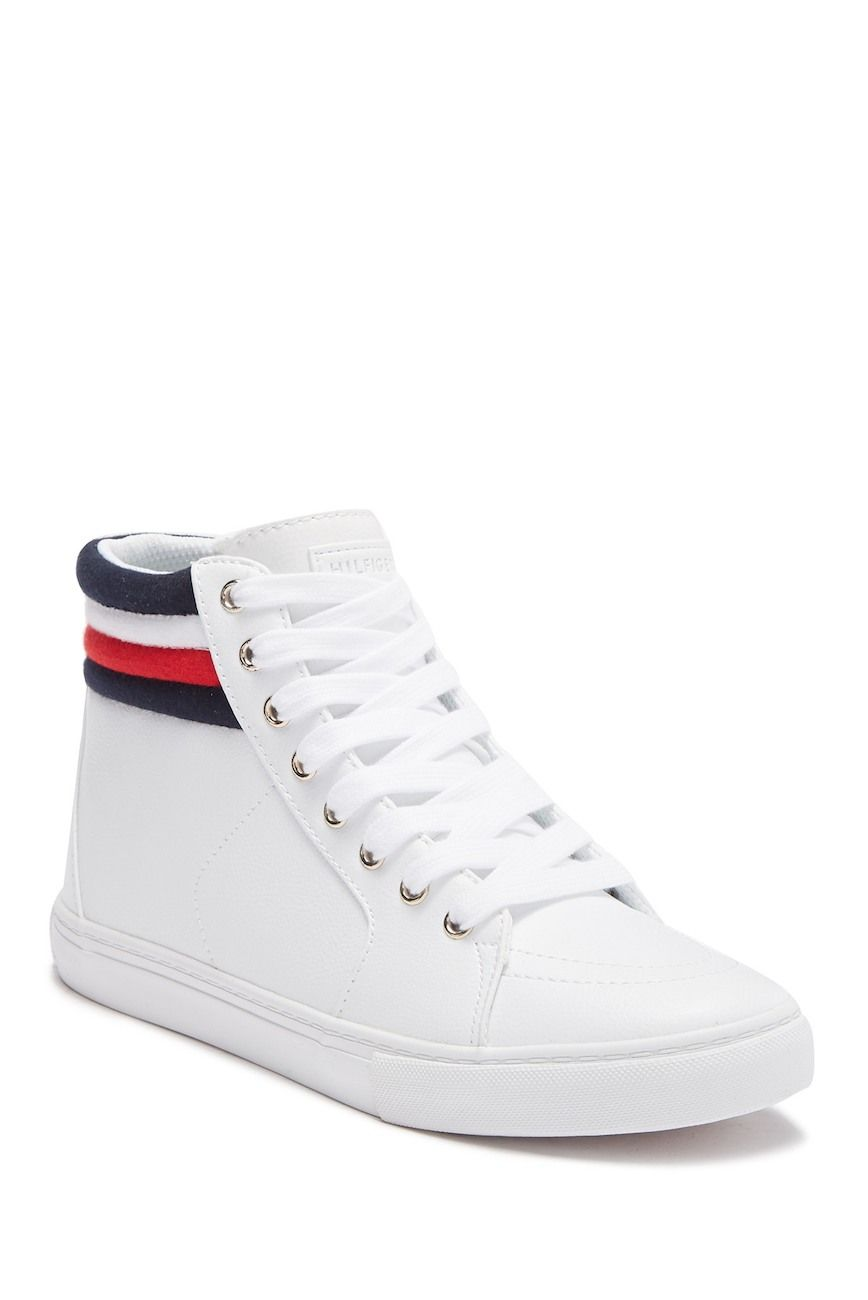 High top sneakers, Tommy hilfiger shoes