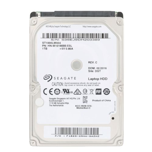 Seagate 500g Laptop Hdd Internal Notebook Hard Disk Drive 7mm 5400rpm Sata 6gb S 16mb Cache 2 5 Inch St500lt012 Seagate Hard Disk Drive Hdd
