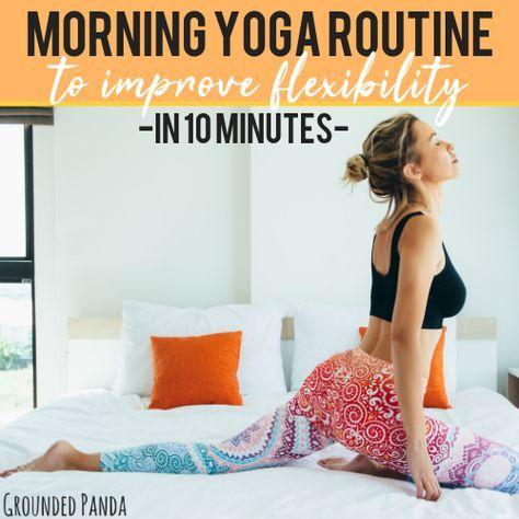 10 minute beginner yoga routine for flexibility  free