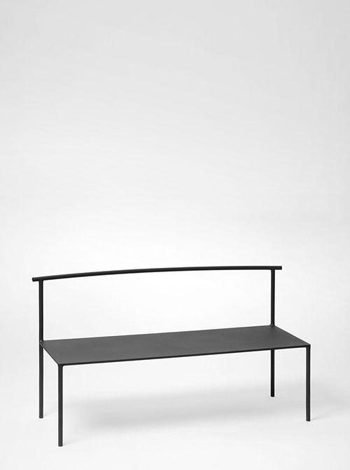 archetype furniture. Black Coated Iron ARCHETYPE BENCH By Soe Studio Archetype Furniture Pinterest