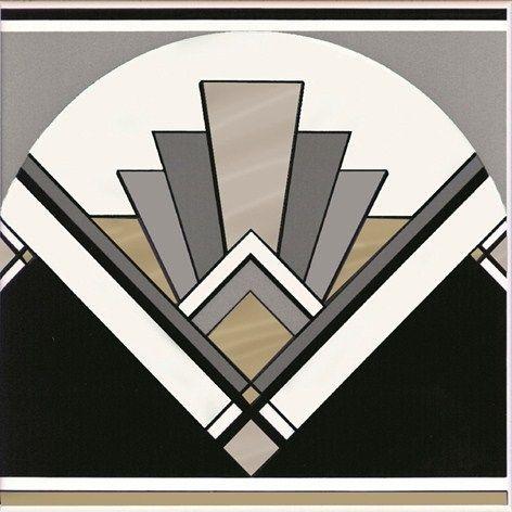 Art Deco Wall Art art deco tile - | style | pinterest | art deco, ceramic wall tiles