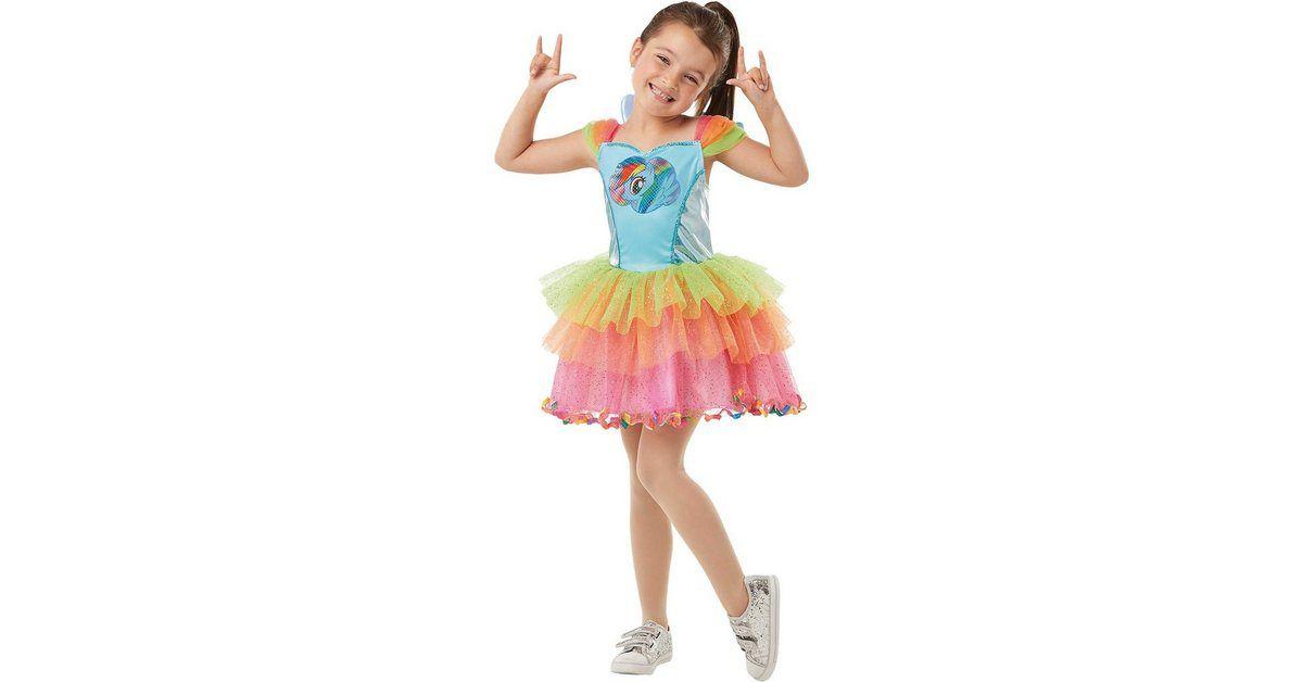 Rubie´s Kostüm My little Pony Rainbow Dash Dress Deluxe