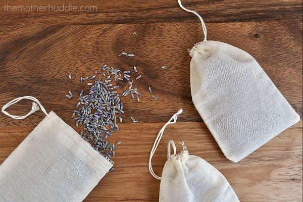 Lavender Bags Filled