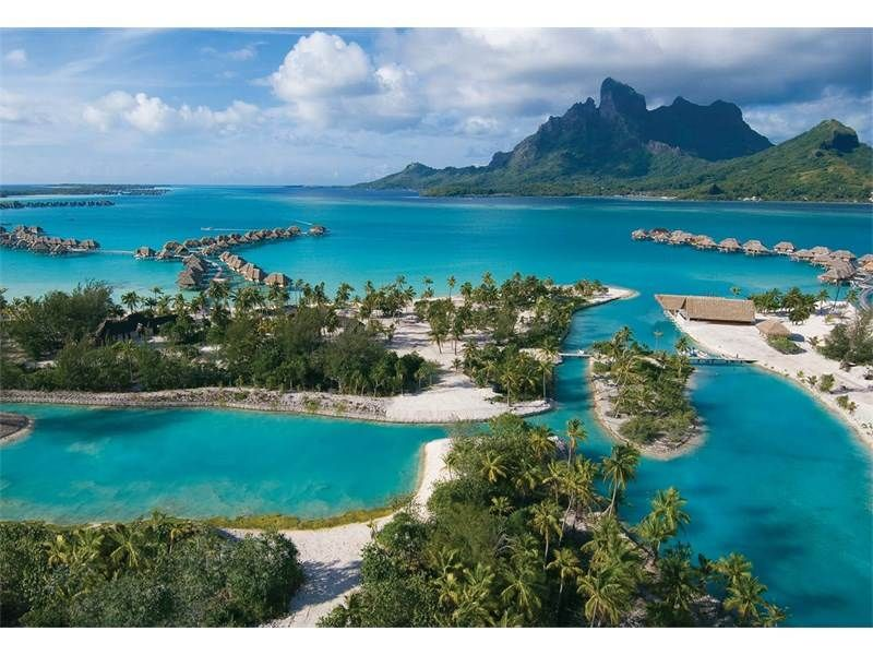 Motu Tehotu Bora Bora Tahiti French Polynesia Luxury Home For