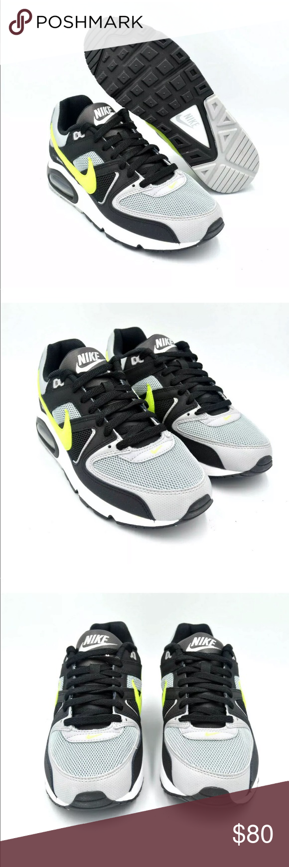 Nike Air Max Command Wolf Grey Volt Size: Multi Size Color