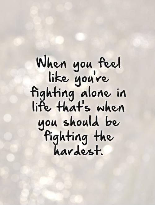 Feeling Alone Quotes: Pics And Quotes About Feeling Alone