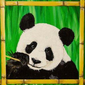 Pin By Courtney Day On Asian Art Panda Art Panda Painting Animal Art