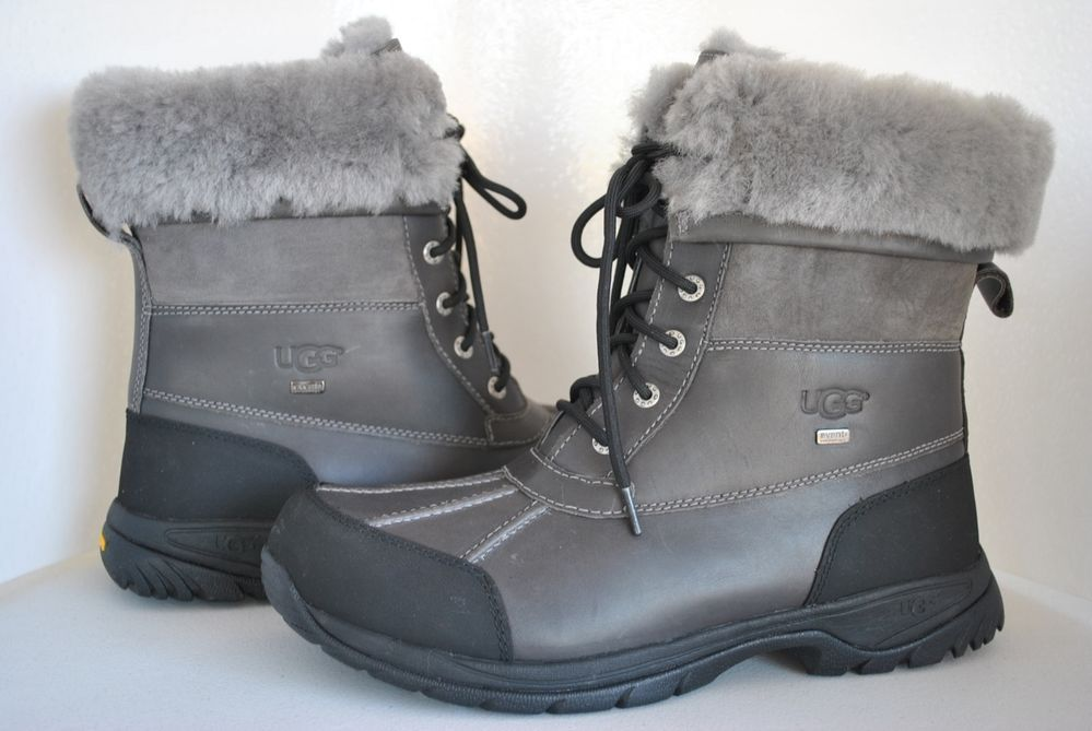 5e33b09a14a UGG Butte Metal Leather Boots 5521 U.S Size 12 UK 11 #UGGAustralia ...
