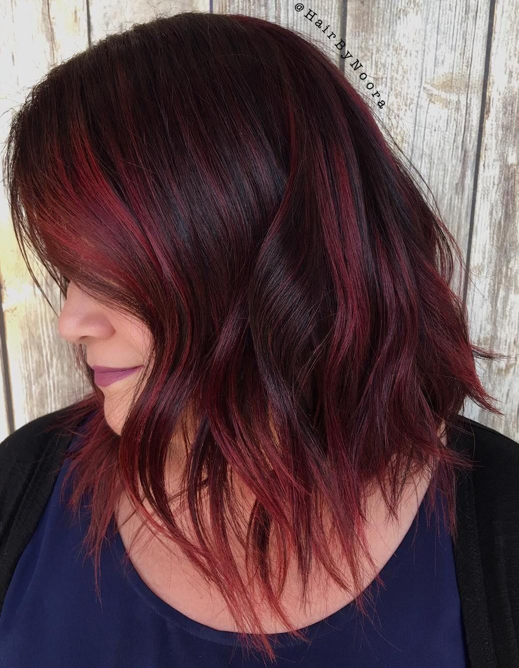 40 Hair Color Ideas That Are Perfectly On Point Burgundy