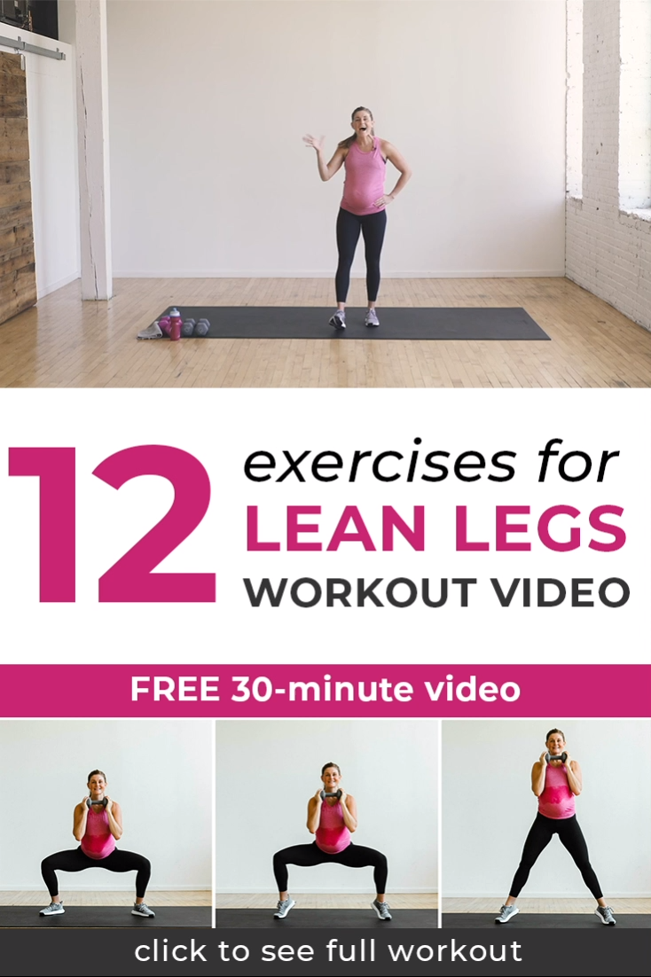 30-Minute Leg Day Workout For Women (Video)   Nourish Move Love