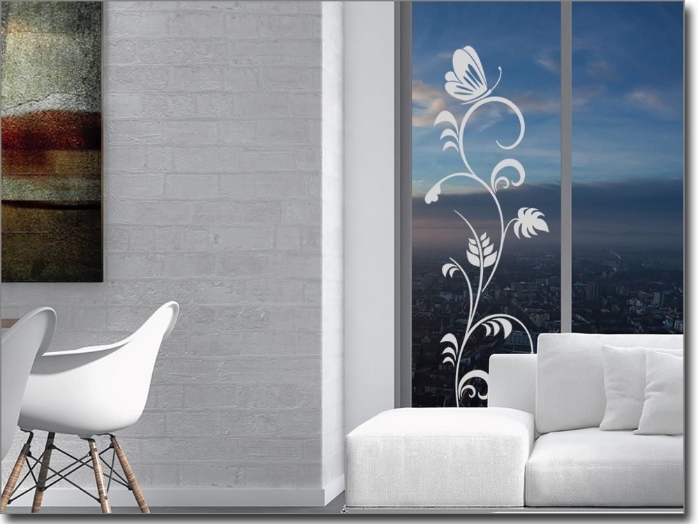 Fenstertattoo Ornament Frühlingsduft Glastattoos Ornamente - folie für badezimmerfenster