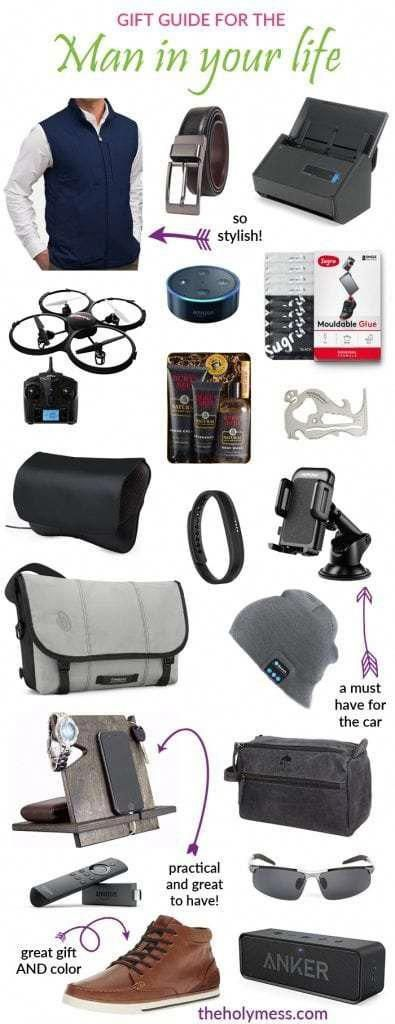 Gift Guide for the Man in Your Life #holiday #shopping #gift #idea
