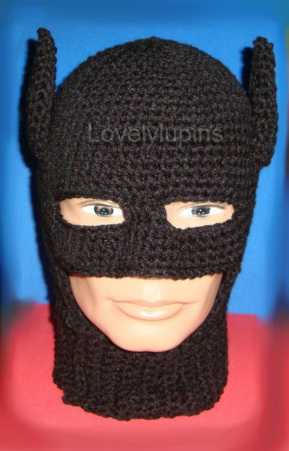 Batman Hat Allfreecrochet New Crochet Batman Hat Pattern Pattern