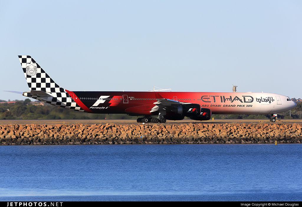 Airbus A340-642X A6-EHJ 933 Sydney Kingsford Smith Int'l Airport - YSSY