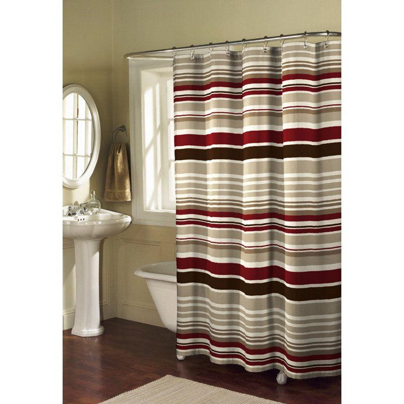 Maytex Mills Meridian Fabric Shower Curtain