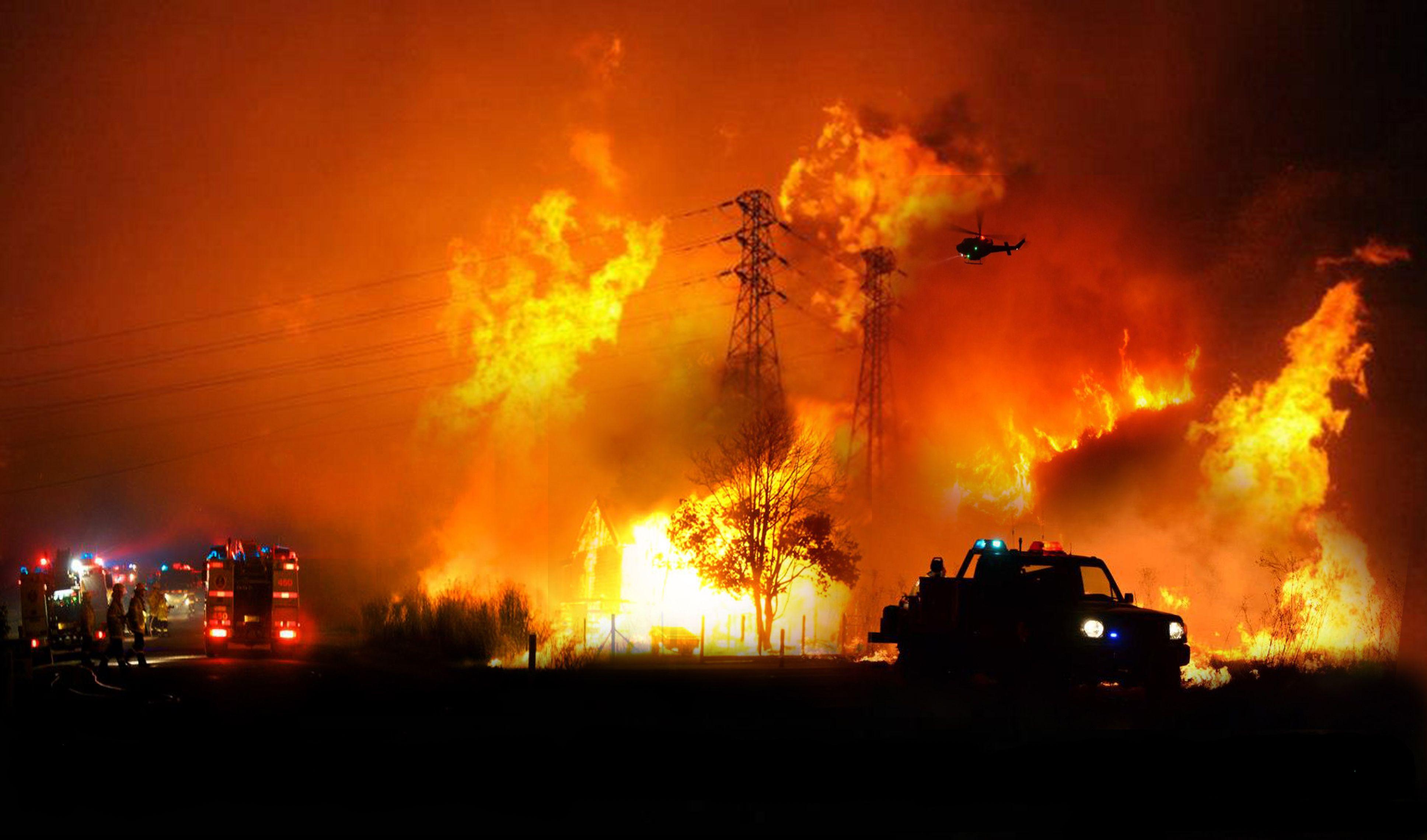 2012 Nsw Bushfire Season Fire Tornado Natural Disasters