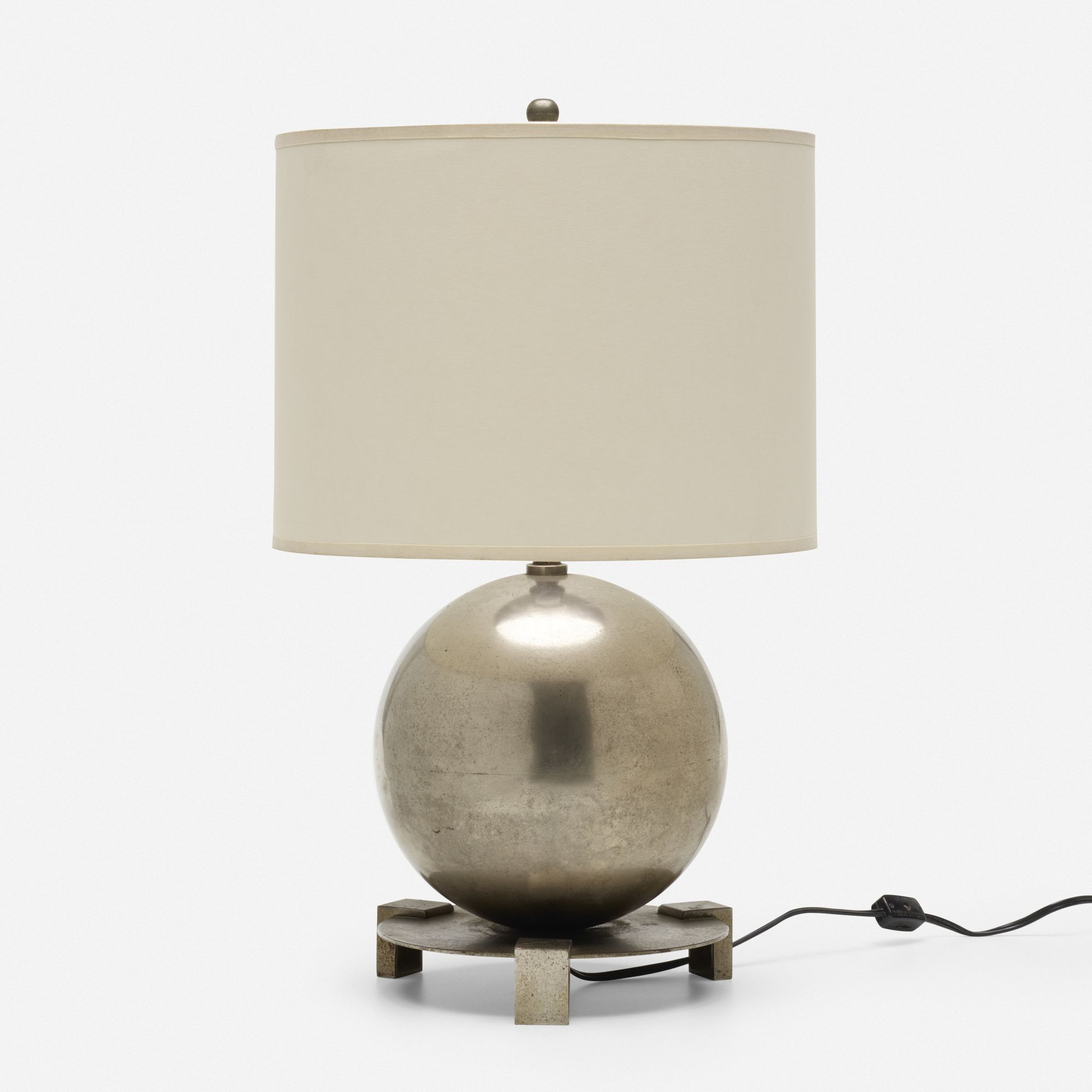 Jacques Adnet Attribution Table Lamp Wright20 Com Lamp Glass Table Lamp Glass Lamp