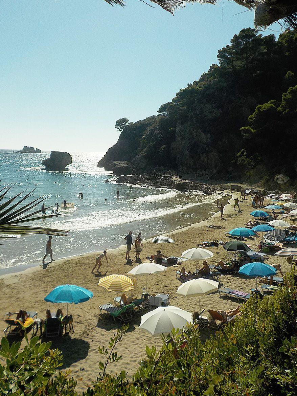 yaliskari beach close to  SPITI MERAKI, Giannades, Corfu, Greece