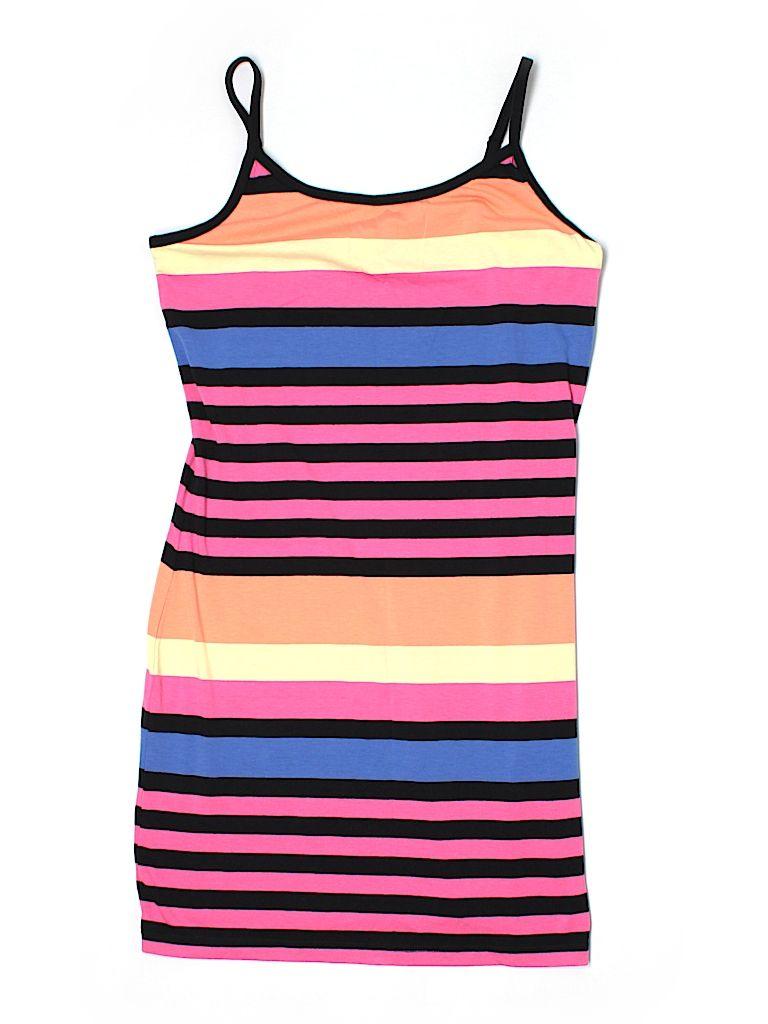 No Boundaries Stripes Pink Casual Dress Size L 49 Off Pink Dress Casual Casual Dress Tank Top Fashion [ 1024 x 768 Pixel ]