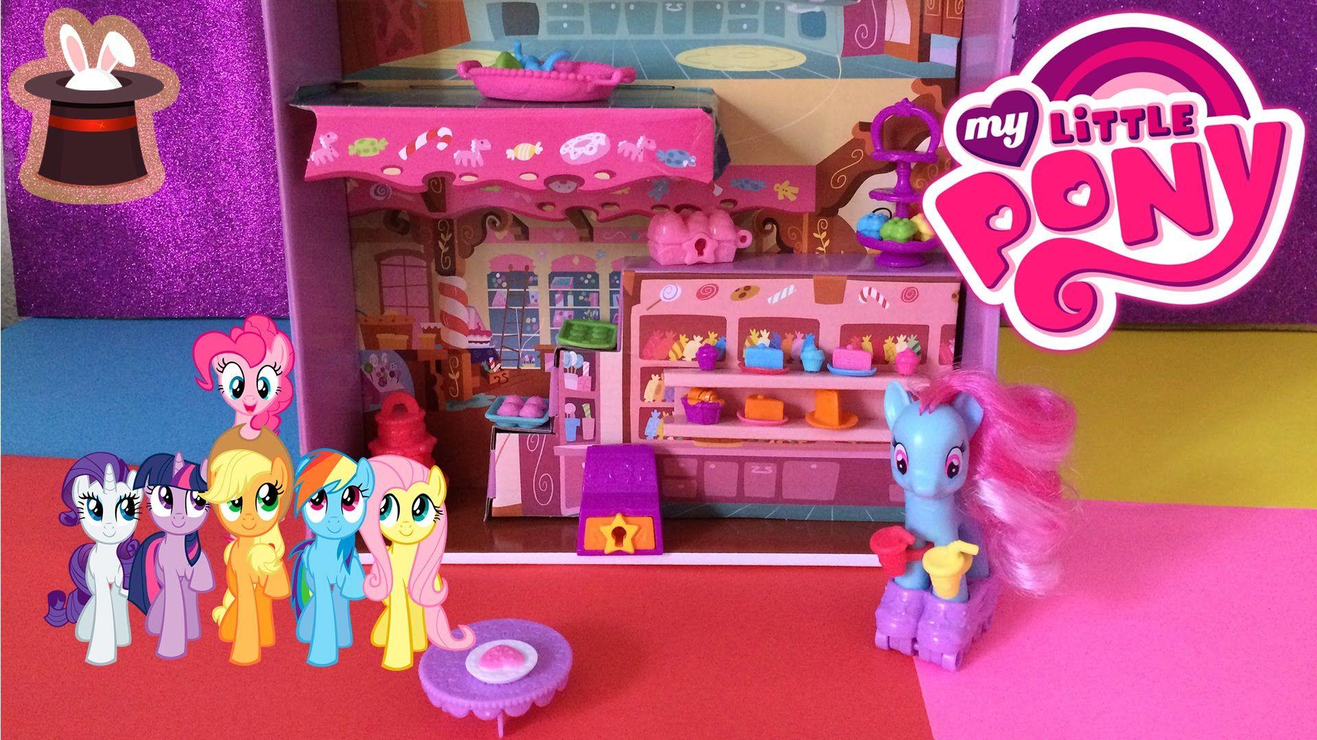 Juguetes De My Little Pony My Little Pony Cafe Sorpresa