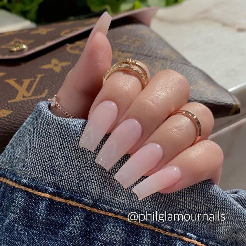 Top 20 Creative Acrylic Nails In 2019 Nailart Naildesign Nails Nail Nails Designnails Manicure Pe Pink Acrylic Nails Square Acrylic Nails Acrylic Nails