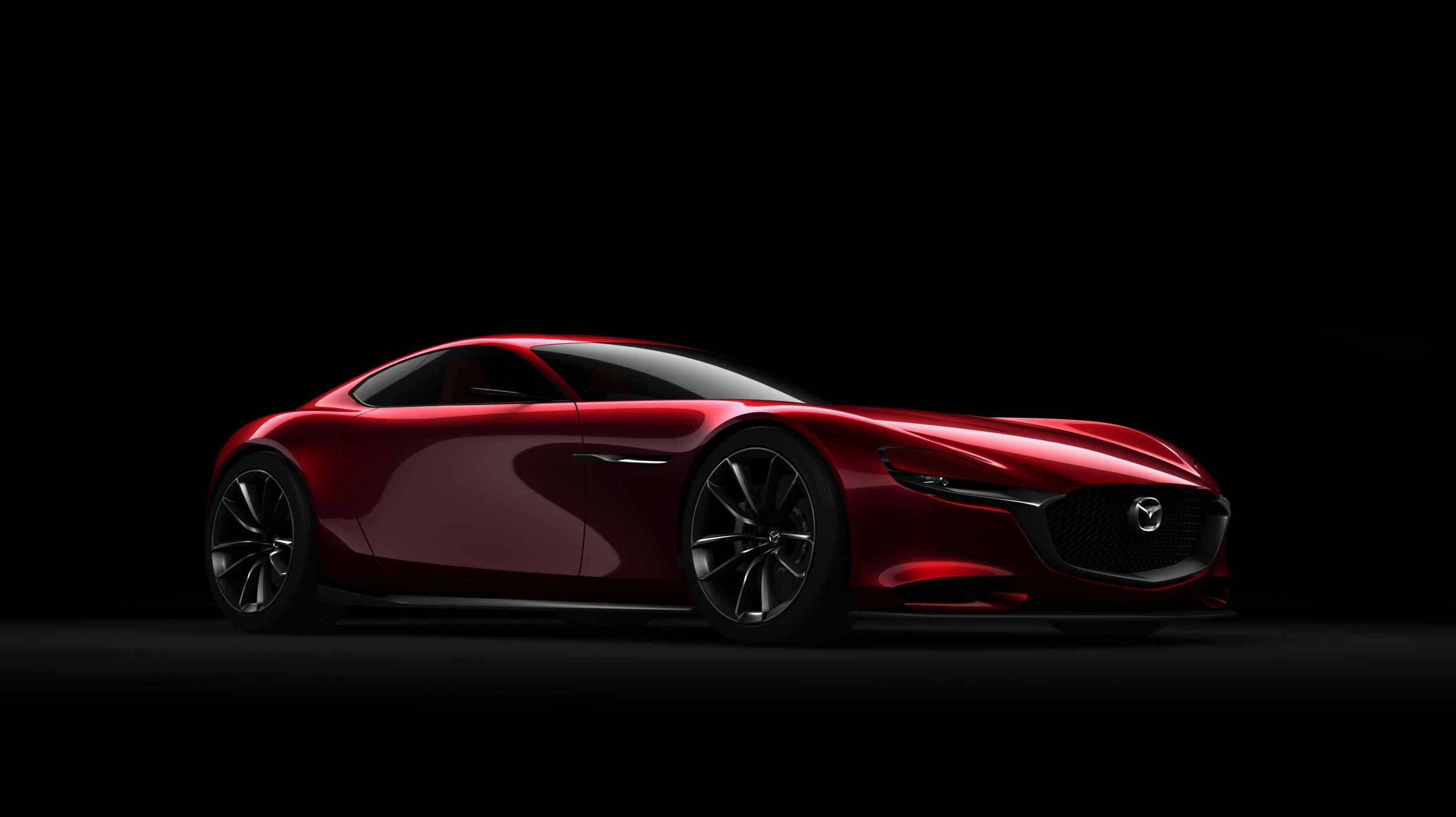 The mazda rx vision concept is the return to rotary power we ve been