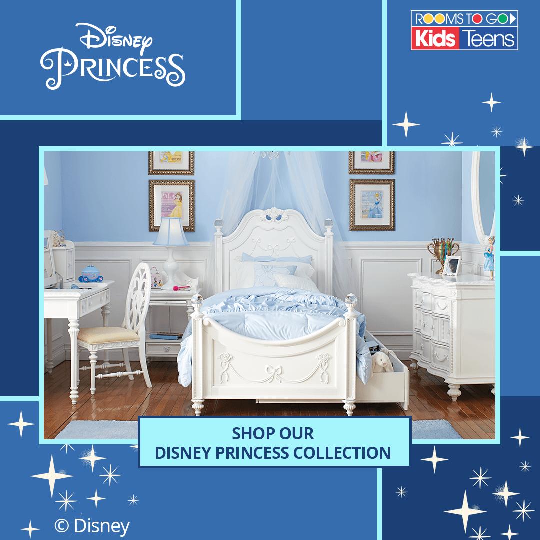 Disney Princess Bedroom Princess Furniture Disney Princess Bedroom Rooms To Go Kids