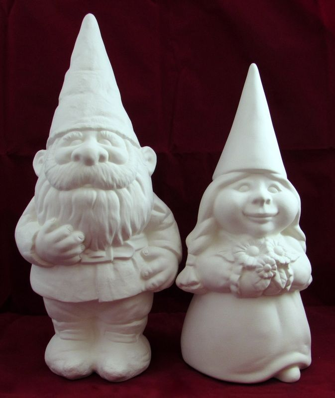 Ceramic Lawn Ornaments To Paint