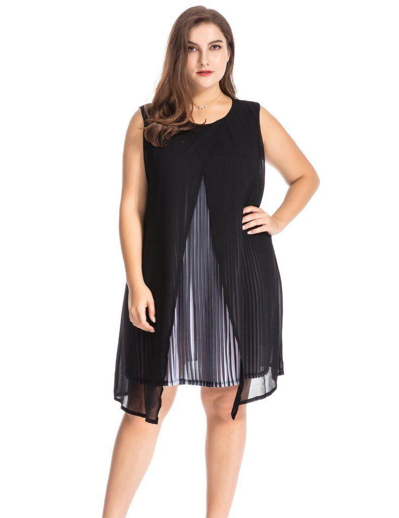 b0af26c2709 Chicwe Plus Size Mock 2pc Dress Ensemble 1X-4X