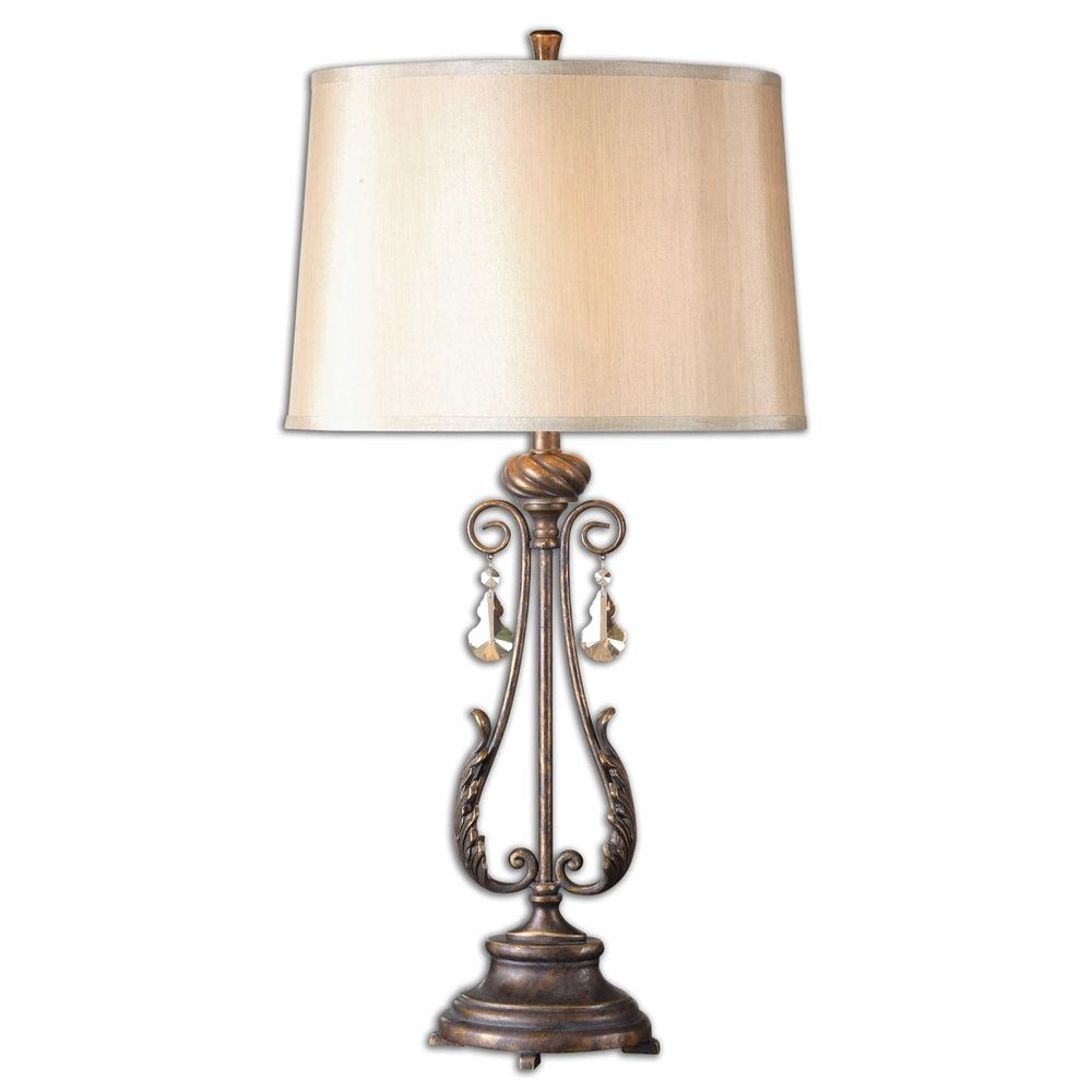 Uttermost cassia oil rubbed bronze table lamp the golf clubwork uttermost cassia oil rubbed bronze table lamp geotapseo Gallery