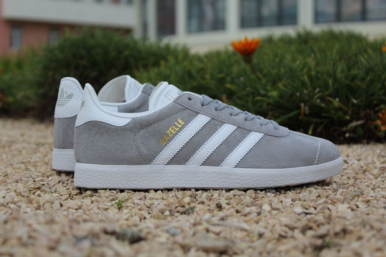 adidas gazelle grey and orange