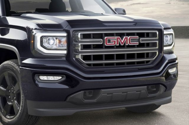 2016 Gmc Sierra Elevation Edition Grille Headlight Front Per