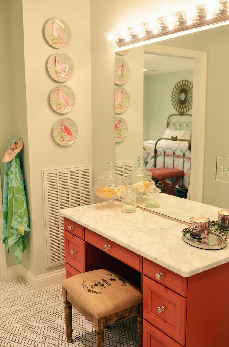Love the coral and the marble master bath ybe so ud home is