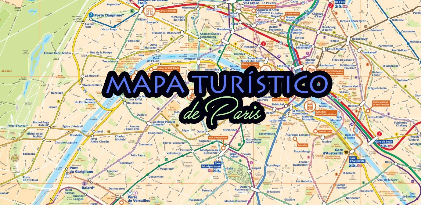 Circuito W Mapa : Mapa turístico de paris paris pinterest