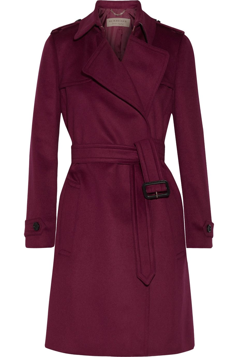 9fe321b716 Burberry - Tempsford cashmere trench coat | Fashion Lust | Burberry ...