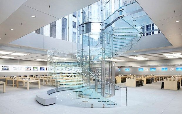 5 Most Beautiful Apple Stores From All Around The World Apple Store Interior Store Design Interior Apple Retail Store