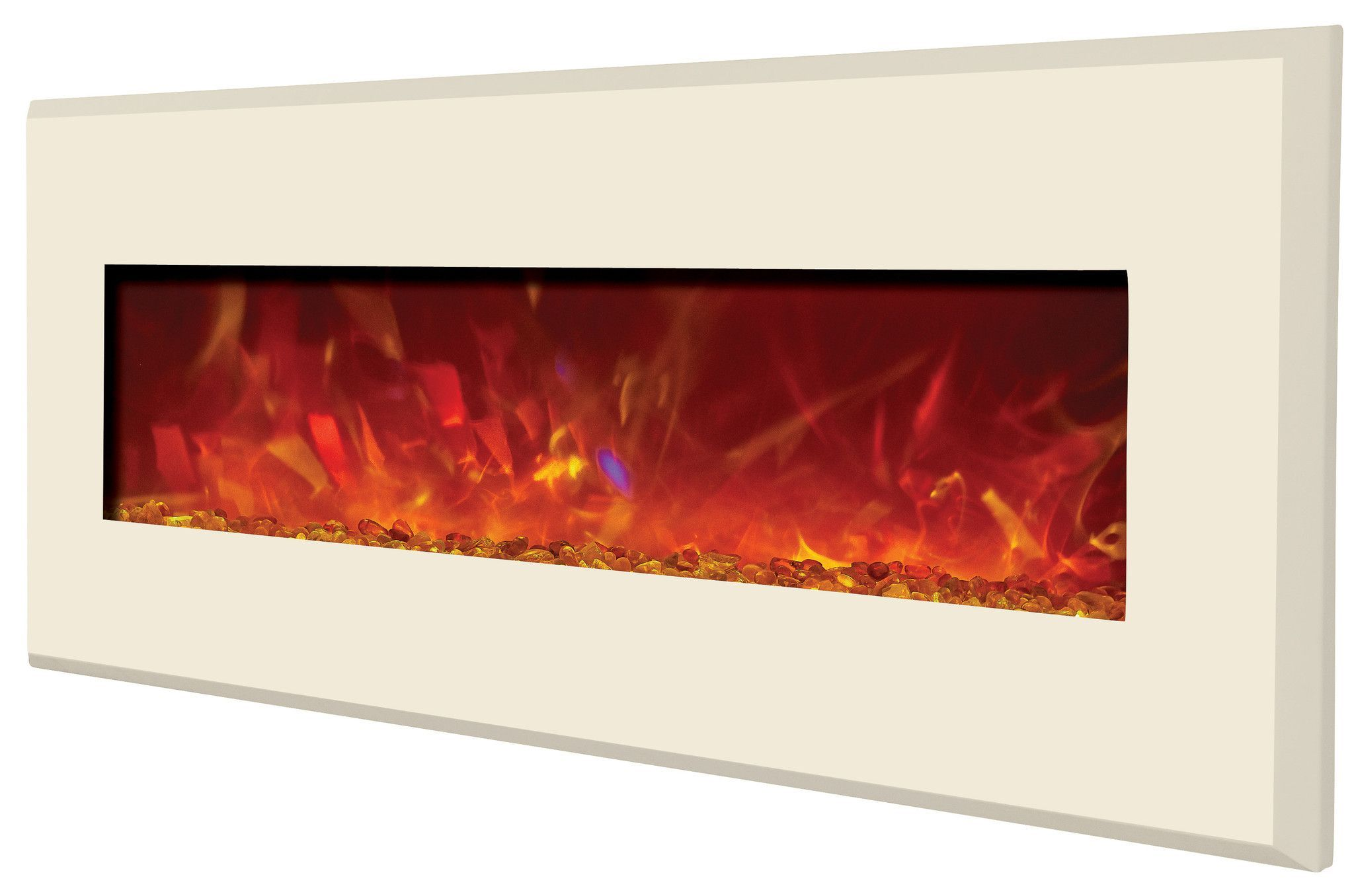 amantii designer built in wall mount electric fireplace wm bi 58