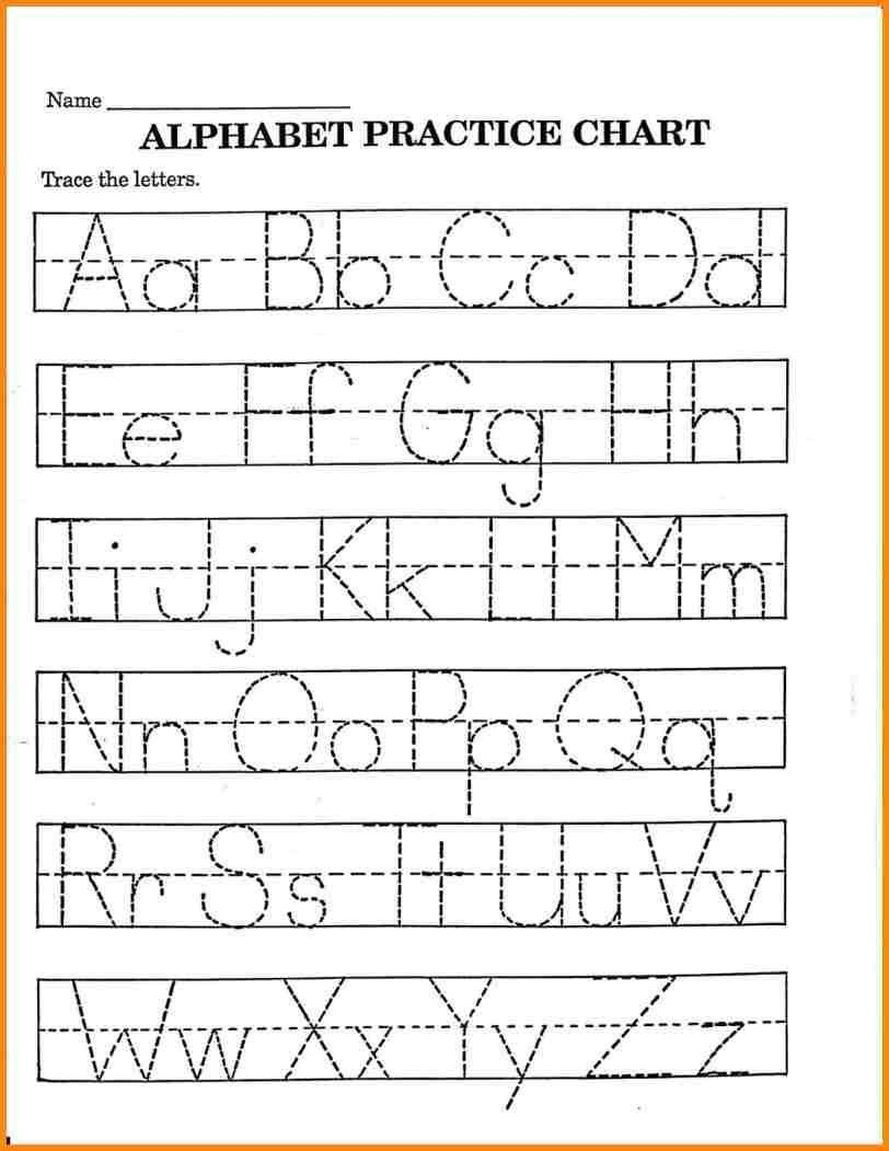 2 Trace Your Name Worksheet Alphabets In 2020 With Images