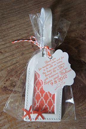 Destination Wedding Place Card Tags By Etsyshop