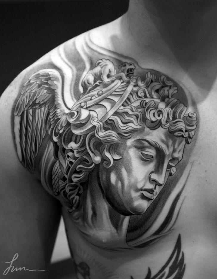 Tattoo Art: Classics Never Die (mit Bildern)   Tattoos männer. Tattoo ideen. Griechische götter