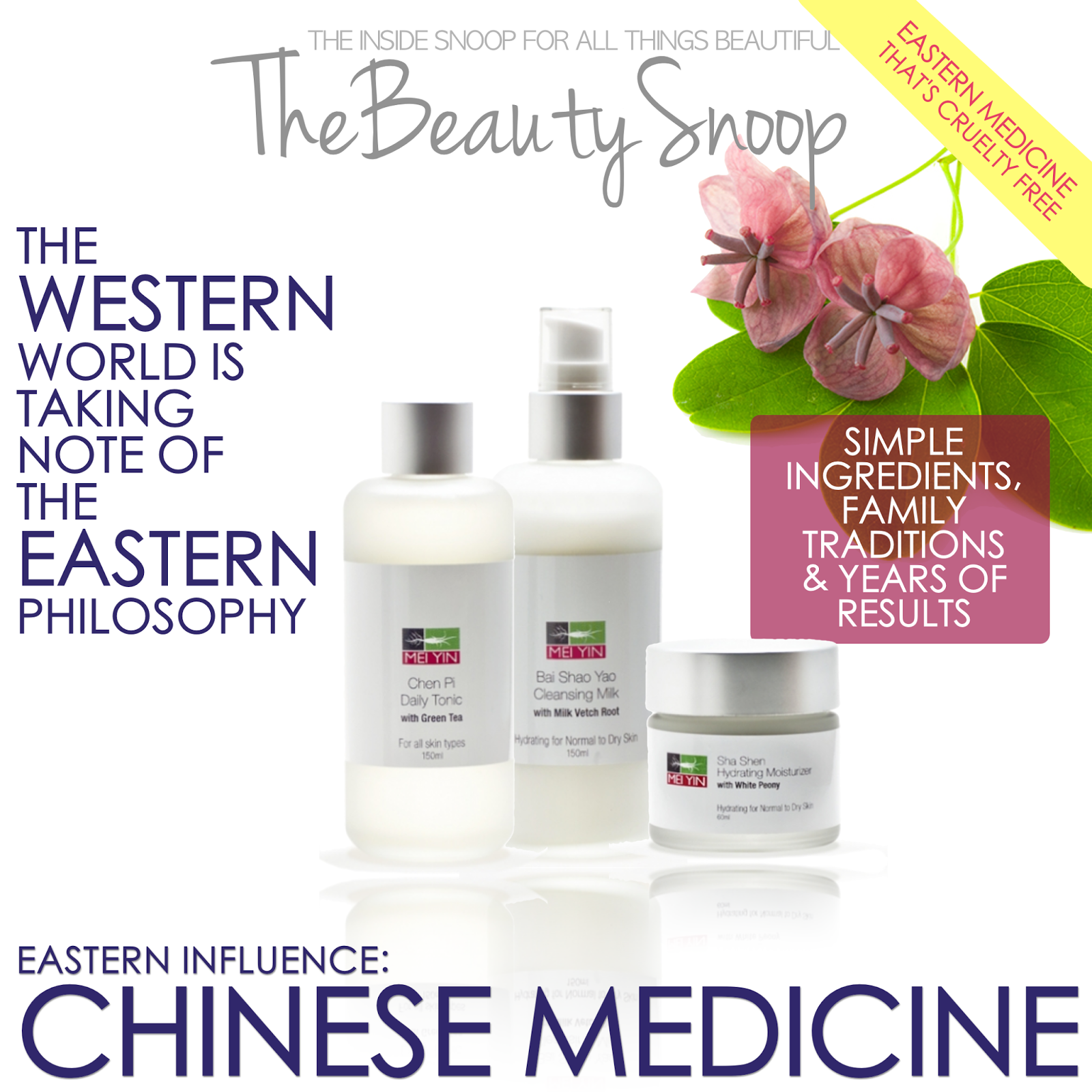 Asian care product skin