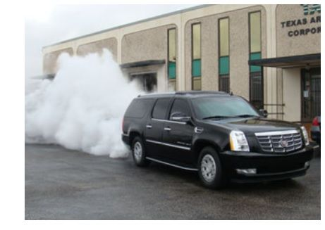 Spy Car Smoke Screen