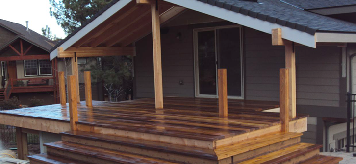 Covered Deck Addition Design | Covered Porch   Landon Construction